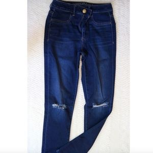 AE high waist jeans